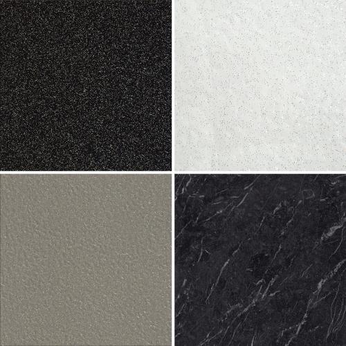 Luvanto Click Sparkle Glitter Marble Vinyl Floor Tiles Kitchen