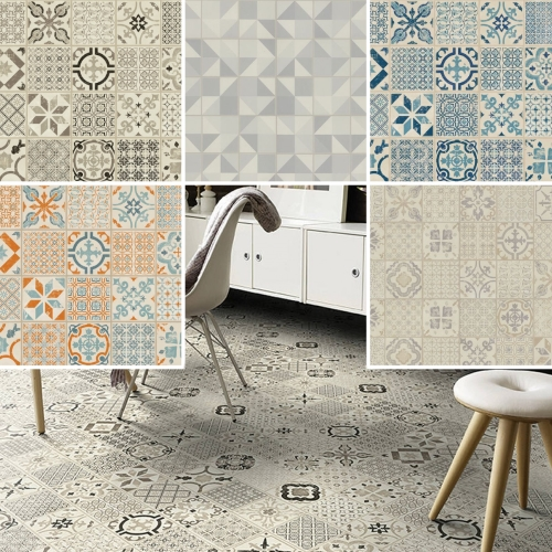 Tarkett Starfloor Retro Victorian Design Waterproof Click Tiles