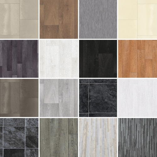 Sample tarkett cushion floor vinyl flooring waterproof for Cushion floor tiles kitchen
