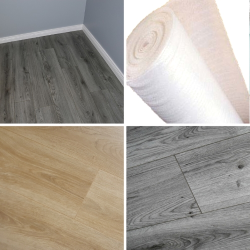 Krono Cheap 7mm Laminate Flooring Wood Floor Oak Grey Quality Drop