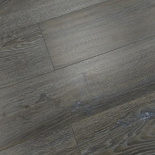 Vintage 12mm Laminate Flooring Wood Brushed Brown Grey Oak Click ...